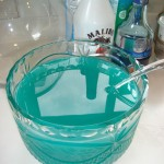 Blue Hawaiian Punch Bowl