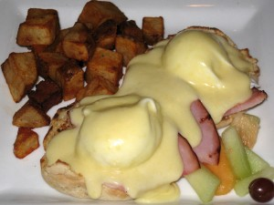 Eggs Benny at the Whip